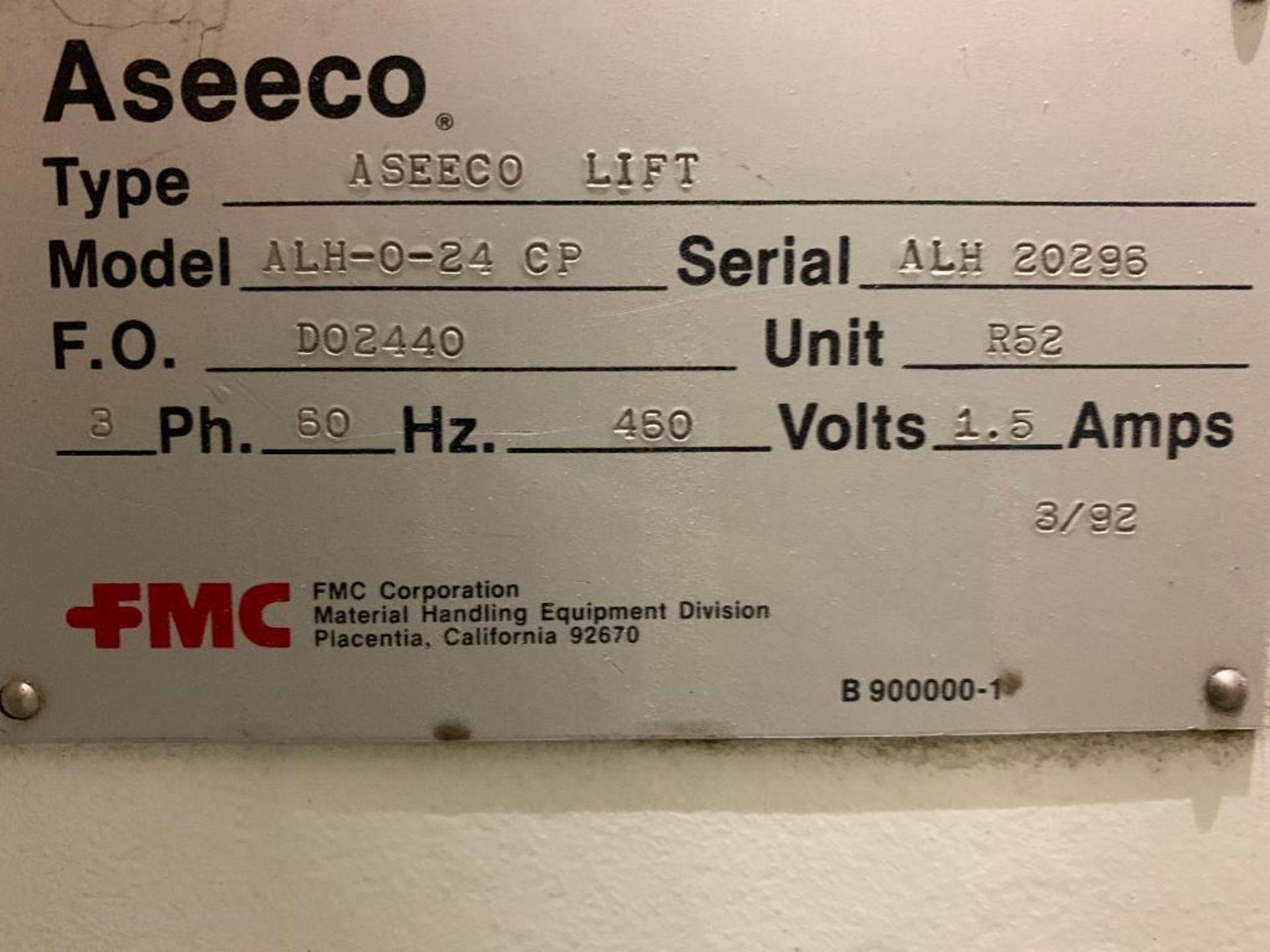 1990 Aseeco horizontal bucket elevator, model ALH-0-24 - Image 16 of 16