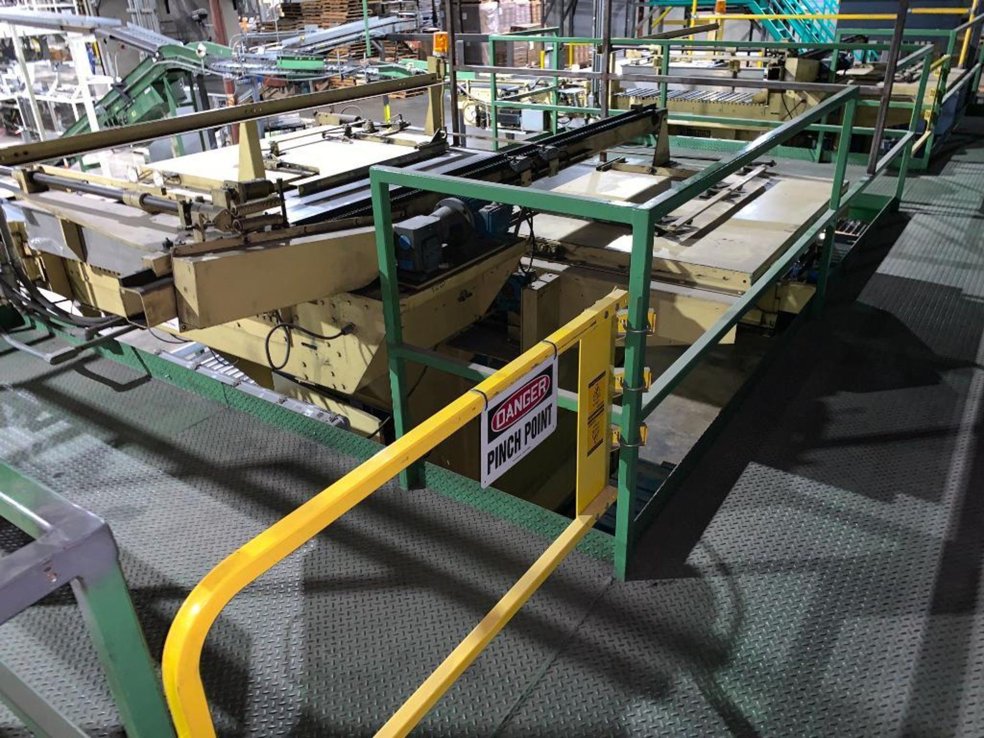 1992 Currie top to bottom palletizer, machine number LSP-5-1177 - Image 53 of 53