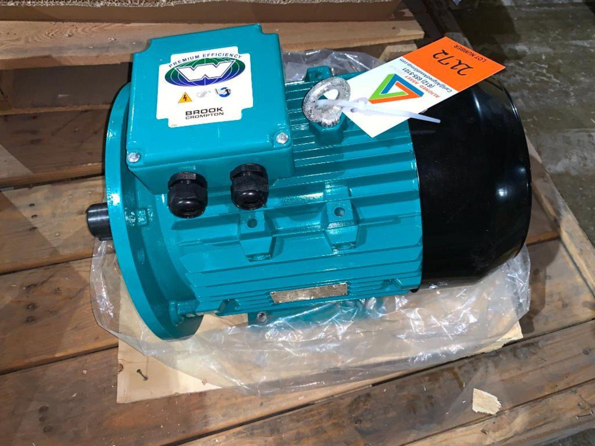 Brook Crompton 4 hp motor