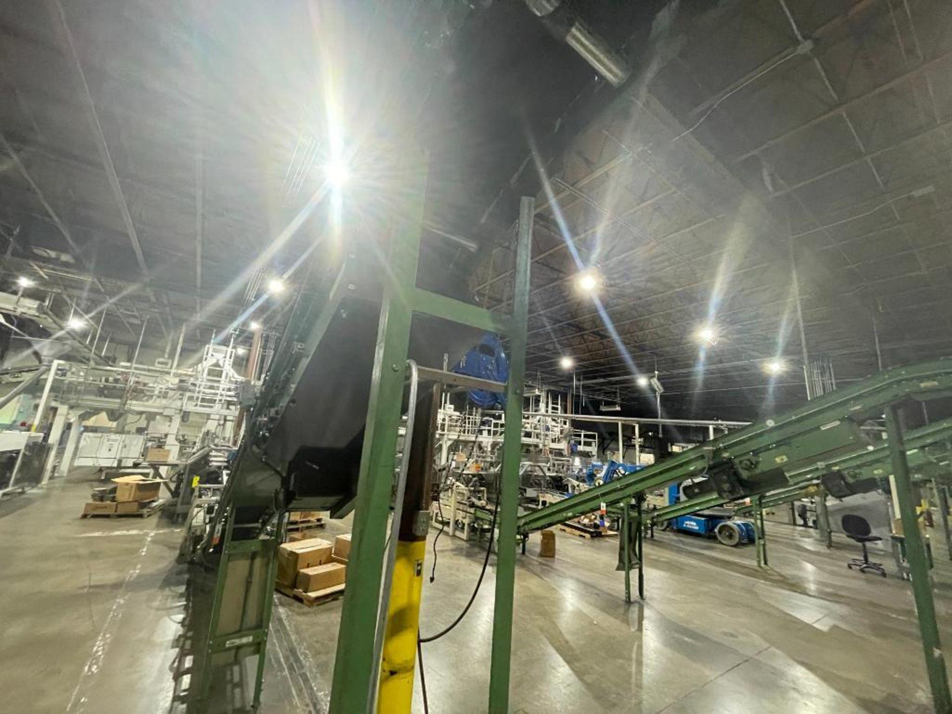 Buschman mild steel incline conveyor - Image 7 of 15