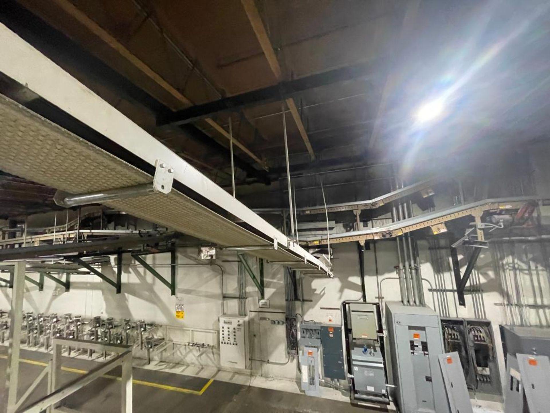 mild steel overhead belt conveyor - Image 11 of 12
