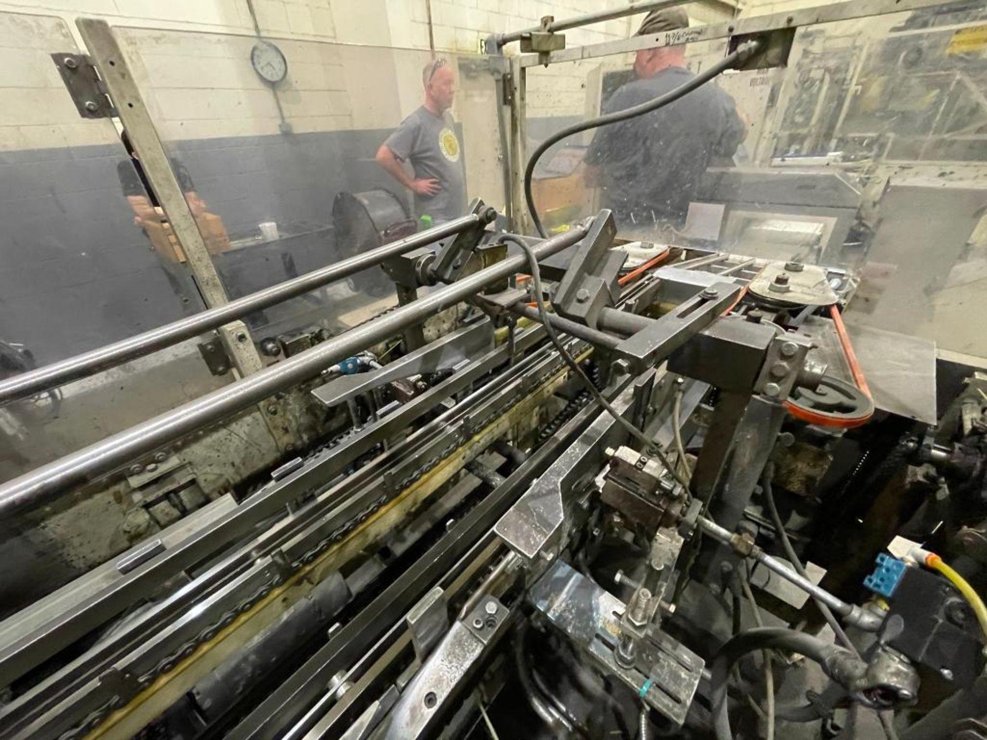 Hayes Machine Co. long goods cartoner, model 51BB - Image 55 of 64