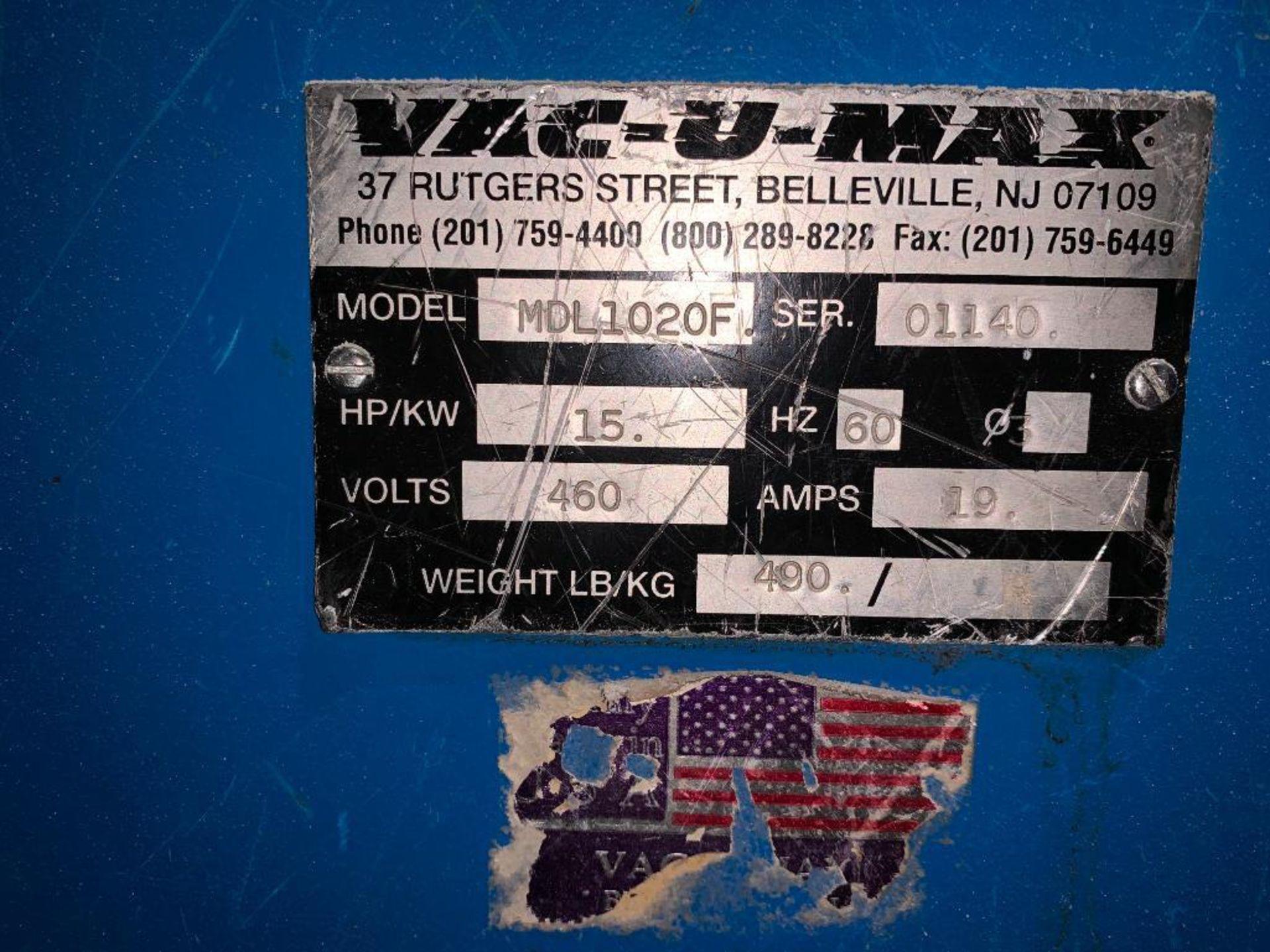 Vac-U-Max industrial vacuum - Image 6 of 6