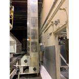 1990 Aseeco horizontal bucket elevator, model ALH-0-24