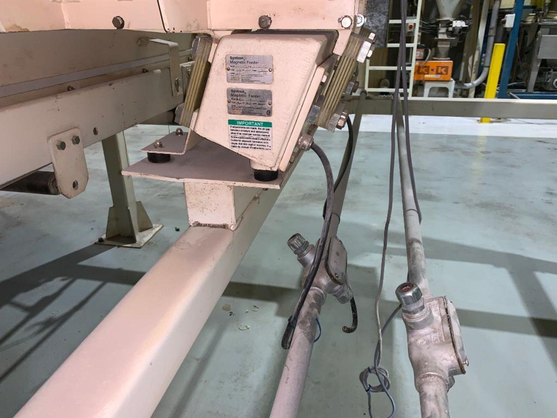 Aseeco mild steel cone bottom bulk storage bin - Image 8 of 16