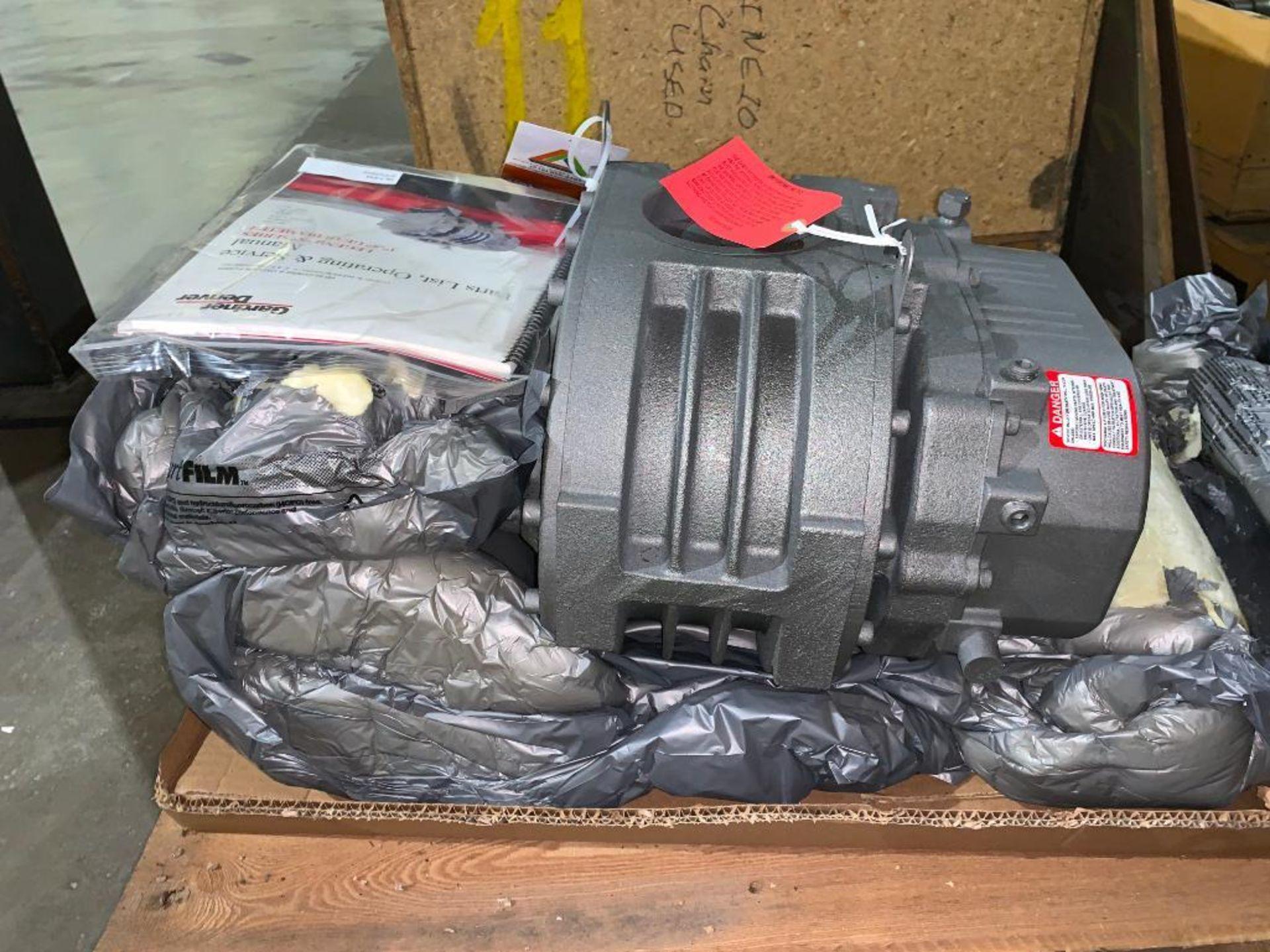 Gardner Denver rotary positive blower, unused - Image 5 of 5