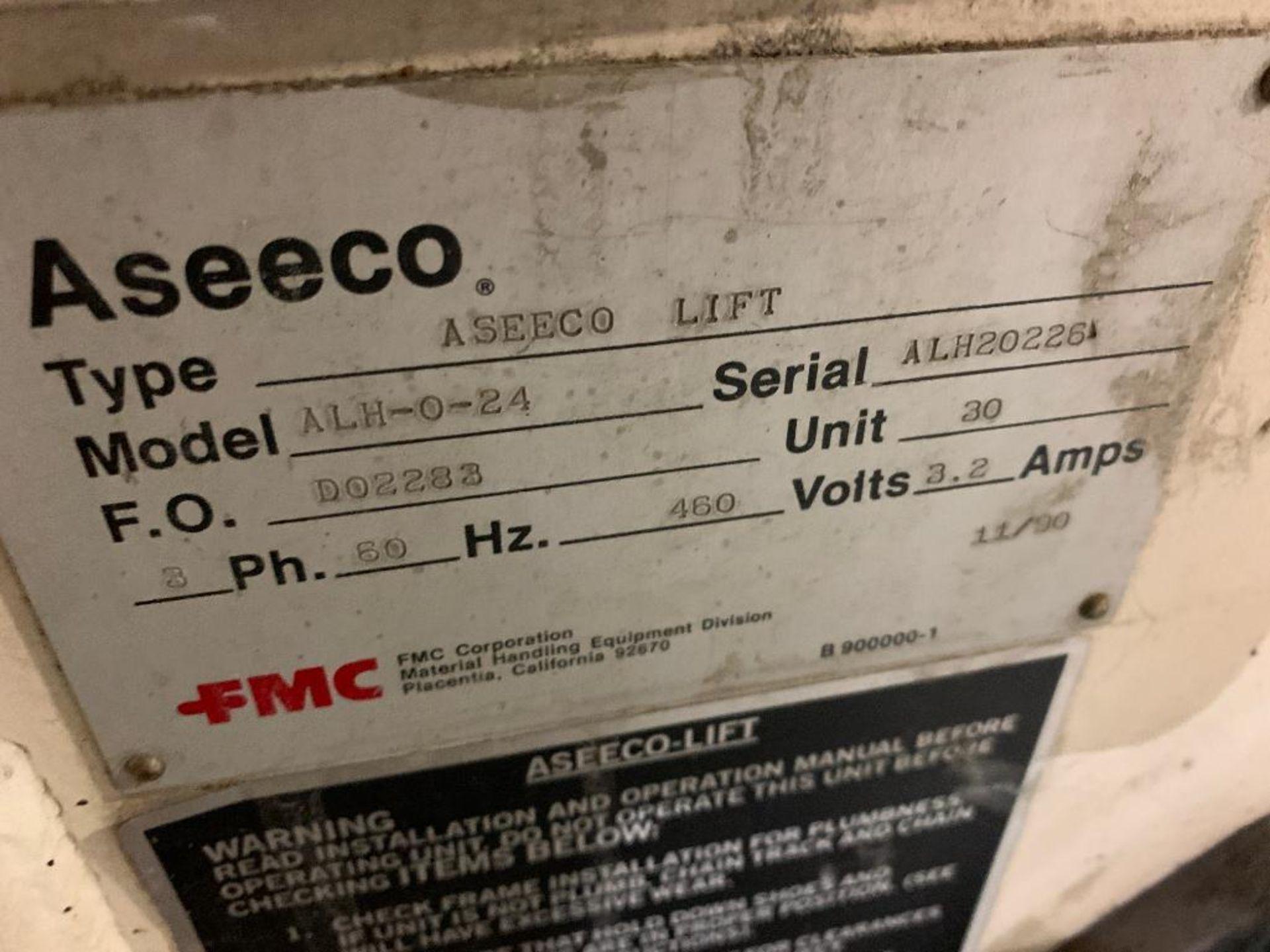 1992 Aseeco horizontal bucket elevator, model ALH-0-24-CP - Image 4 of 18