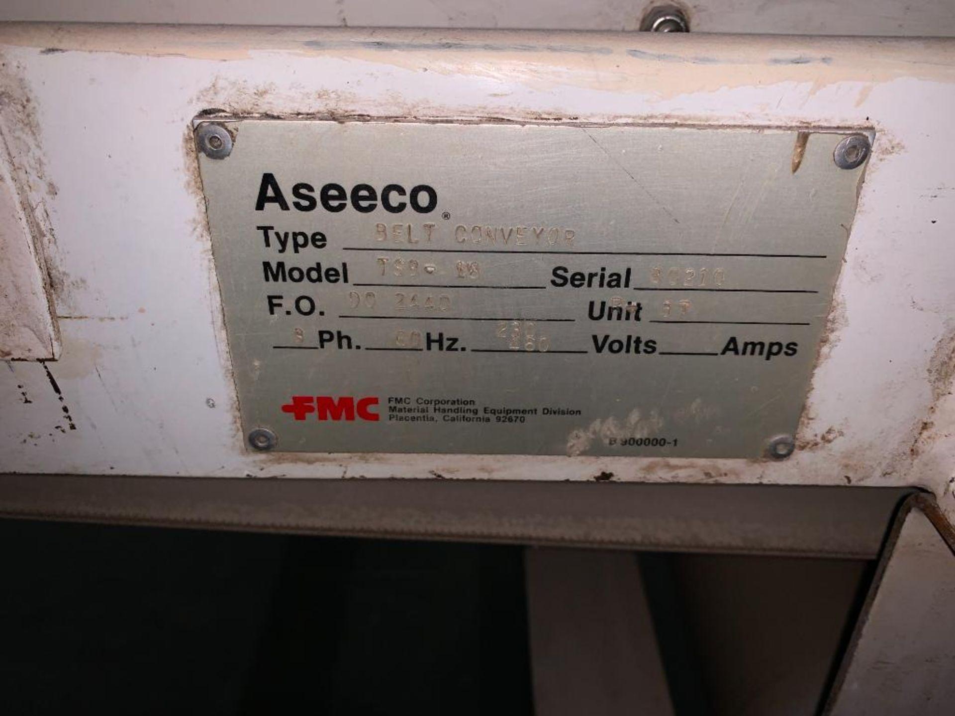 Aseeco mild steel cone bottom bulk storage bin - Image 23 of 27