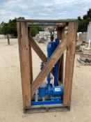 electric water pump with filter and Griswold centrifugal separator