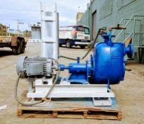 3 in. trash pump 10hp 230/460 V 1755 rpm