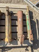 (3) manual hydrualic pump, piston stroke