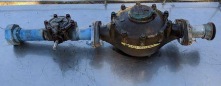 2 in. Sensus brass water meter