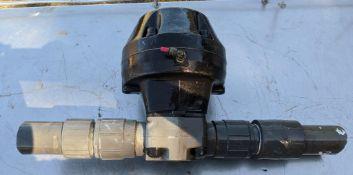 (9)Gemu way valve 2 in. pvc psi 150