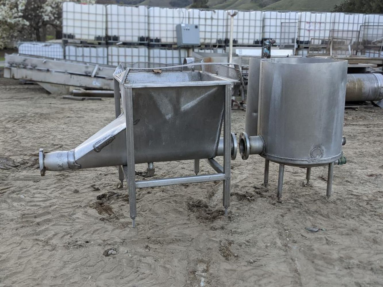 (3) location online only auction of cannabis, CBD and hemp extraction equipment; nut and oil processing; material handling