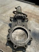 Fabri 8 in. knife gate valve CF8Mstainless steel
