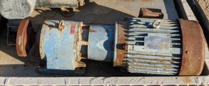 10 hp gear drive for Waukesha pump