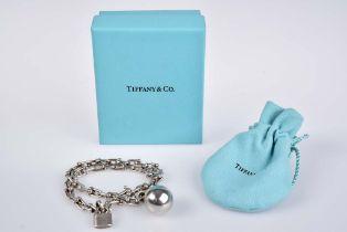 TIFFANY & Co. Designer Armband City HardWear Wickelarmband, 925/000 Sterlingsilber, L