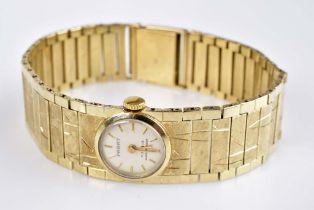 PARAT Damenarmbanduhr Werk mit Handaufzug, 585 GG, 17 Jewels, Shockproof, Gesamtgewich