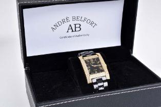 ANDRE BELFORT - Hera Gold - Damenarmbanduhr Limitierte numerierte Auflage 2500 St., Ed
