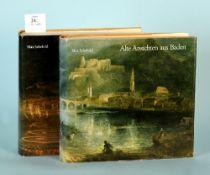 """Schefold, Max """"Alte Ansichten aus Baden"""", 2 Bände"""