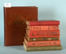 Kochbücher, 7 Stück