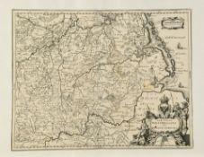 "Landkarte ""Circulus Westphalicus sive Germaniae Inferioris"""
