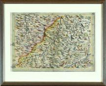 """Landkarte """"Lech- und Illertal"""""""