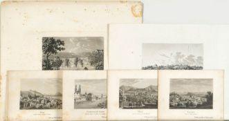 Schweizer Ansichten, 6 Stück