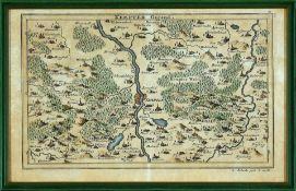 """Landkarte """"Kempter Gegend"""""""