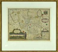 "Landkarte ""Osnabrugensis Episcopatus"""