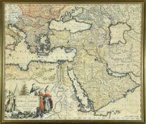 """Landkarte """"Turcici Imperii"""""""