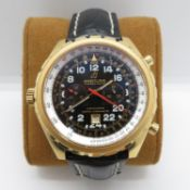 18ct heavy limited edition Breitling Chrono- Matic Chronograph number H22360 - number 125 out of 250