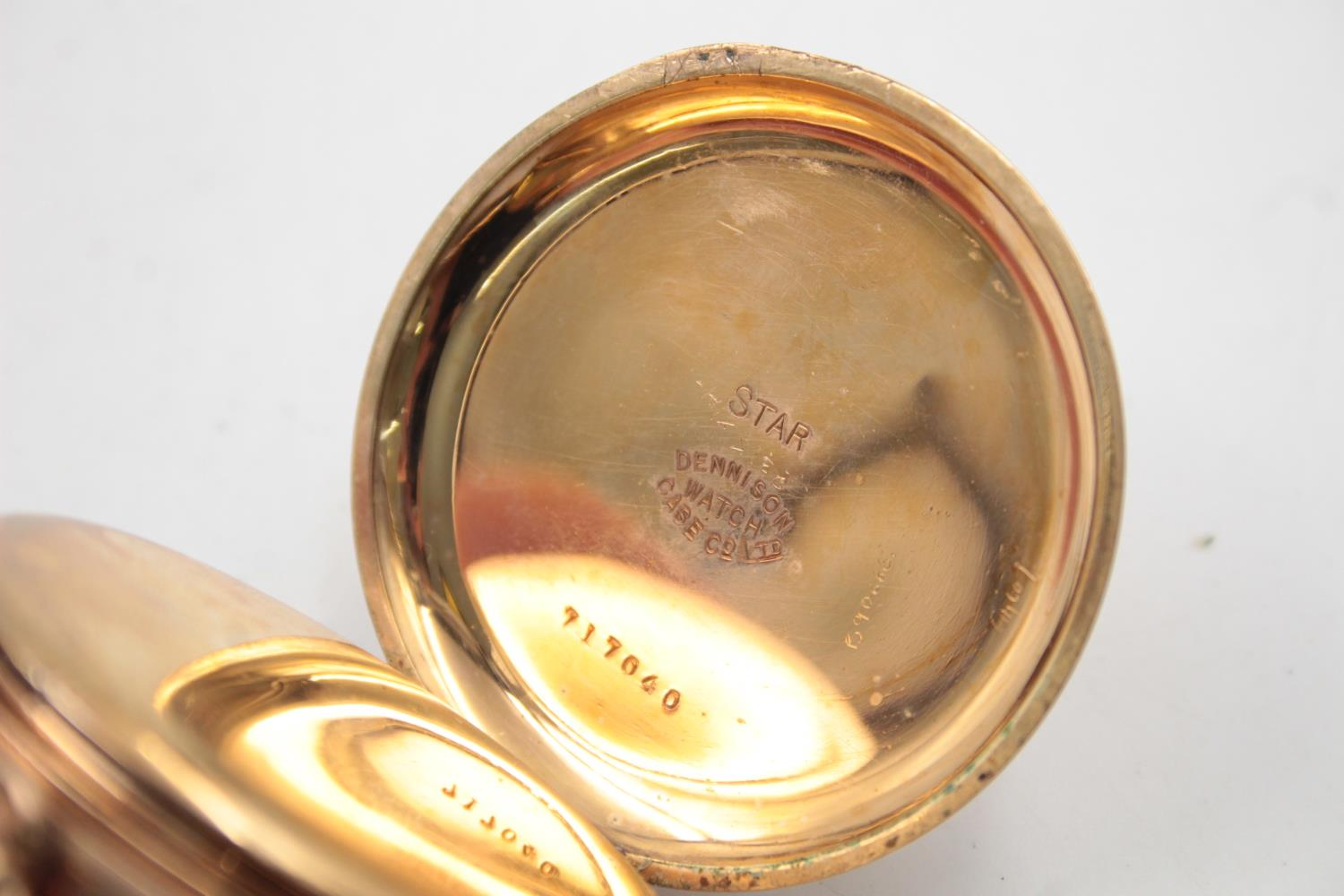 Vintage Gents WALTHAM Rolled Gold Open Face POCKET WATCH Hand-Wind (102g) - Image 6 of 6