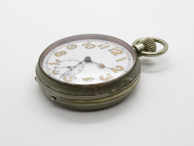 Goliath / Jumbo gents vintage pocket watch hand wind working - Image 2 of 5