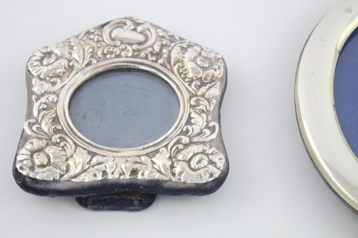 4 x Antique / Vintage Hallmarked .925 STERLING SILVER Photograph Frames (394g) - Image 5 of 5