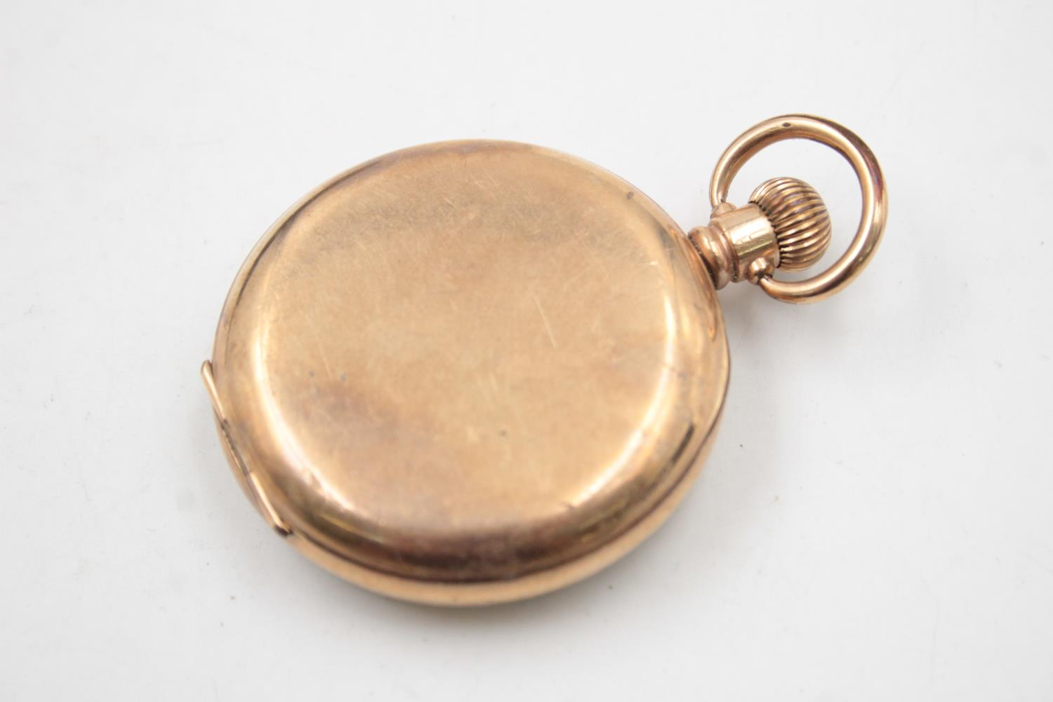 Vintage Gents WALTHAM Rolled Gold Open Face POCKET WATCH Hand-Wind (102g) - Image 3 of 6