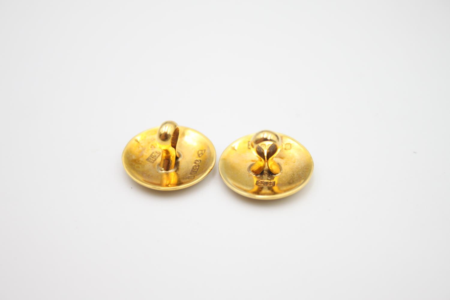 antique 9ct gold gents dress stud set in fitted case 6.6g - Image 6 of 6