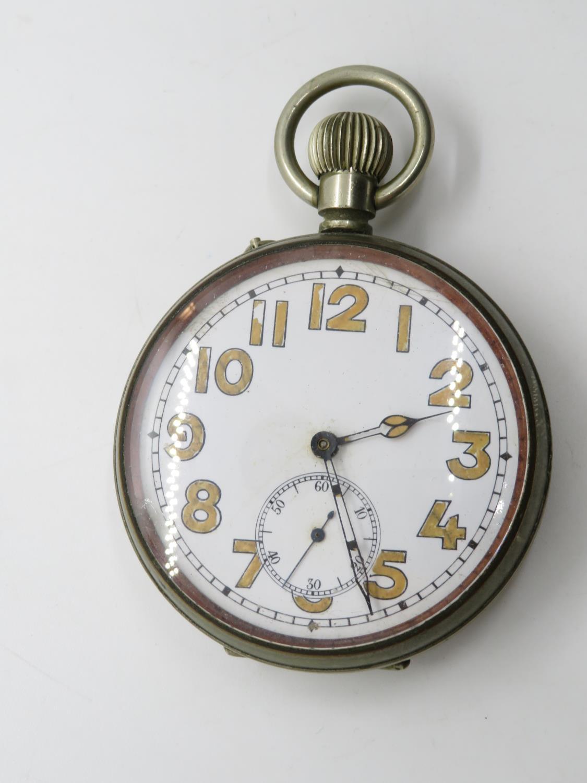 Goliath / Jumbo gents vintage pocket watch hand wind working