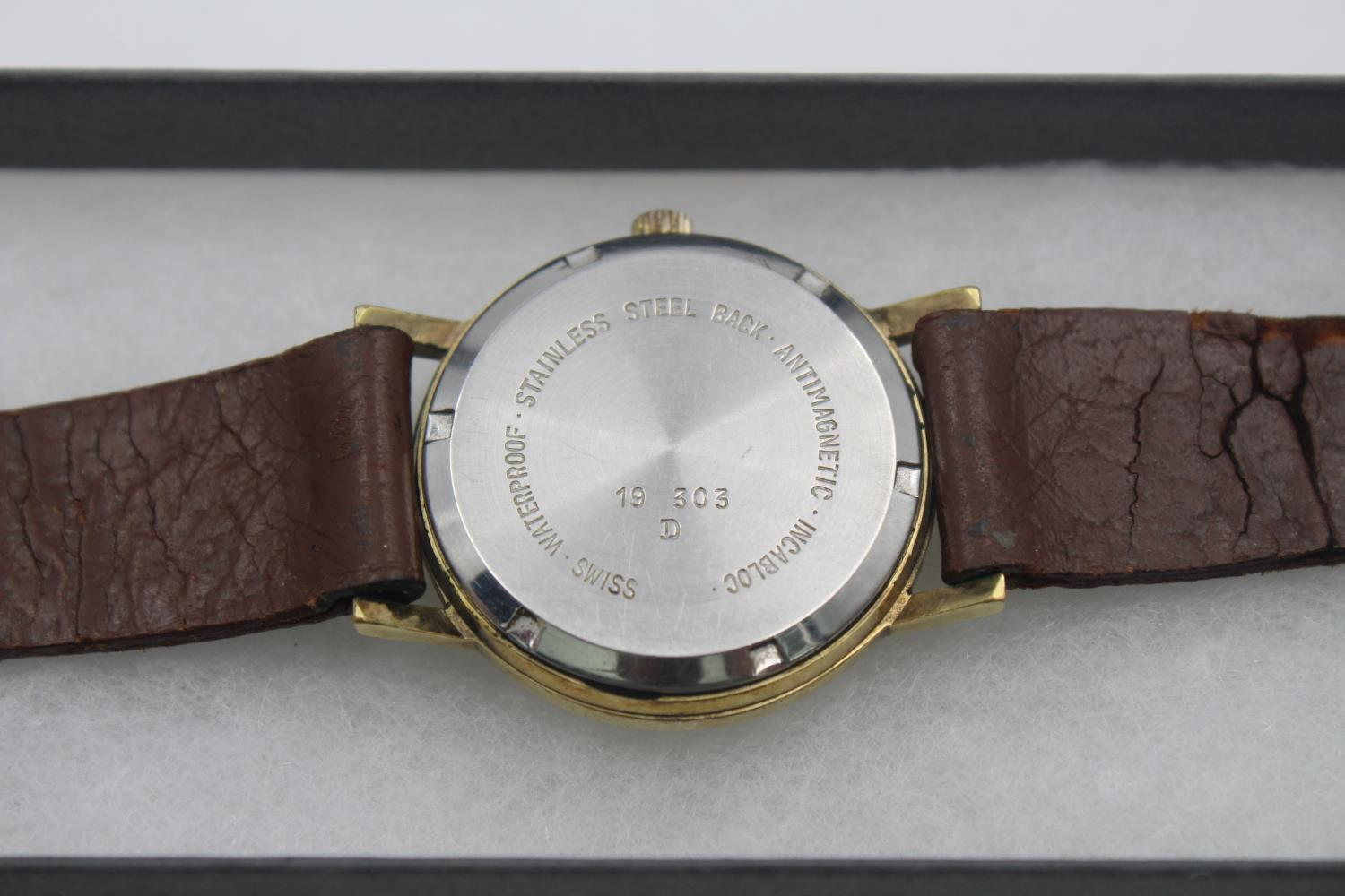 Vintage Gents BAUME Gold Tone WRISTWATCH Hand-Wind - Image 3 of 4