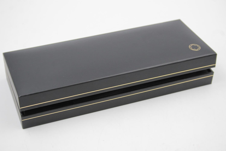 MONTBLANC Meisterstuck Black ROLLERBALL Pen w/ Original Box WRITING - Image 7 of 7