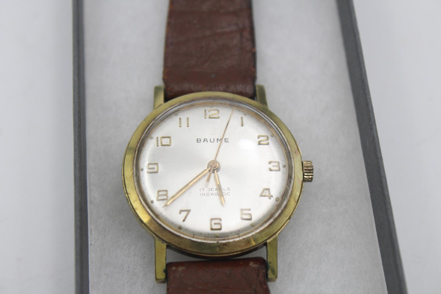 Vintage Gents BAUME Gold Tone WRISTWATCH Hand-Wind - Image 2 of 4