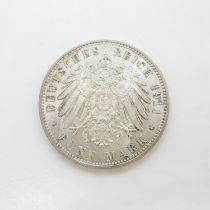 Leopold five marks 1821 - 1911 GF