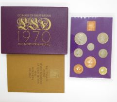 Royal Mint UK 1970's proof year set complete in original case