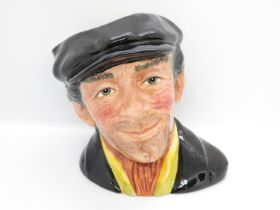 Royal Doulton Number 1 for approval body trial No. 1 The Busker modelled by Stanley James Taylor