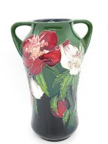 """Signed and dated Moorcroft vase 7.5"""" high"""