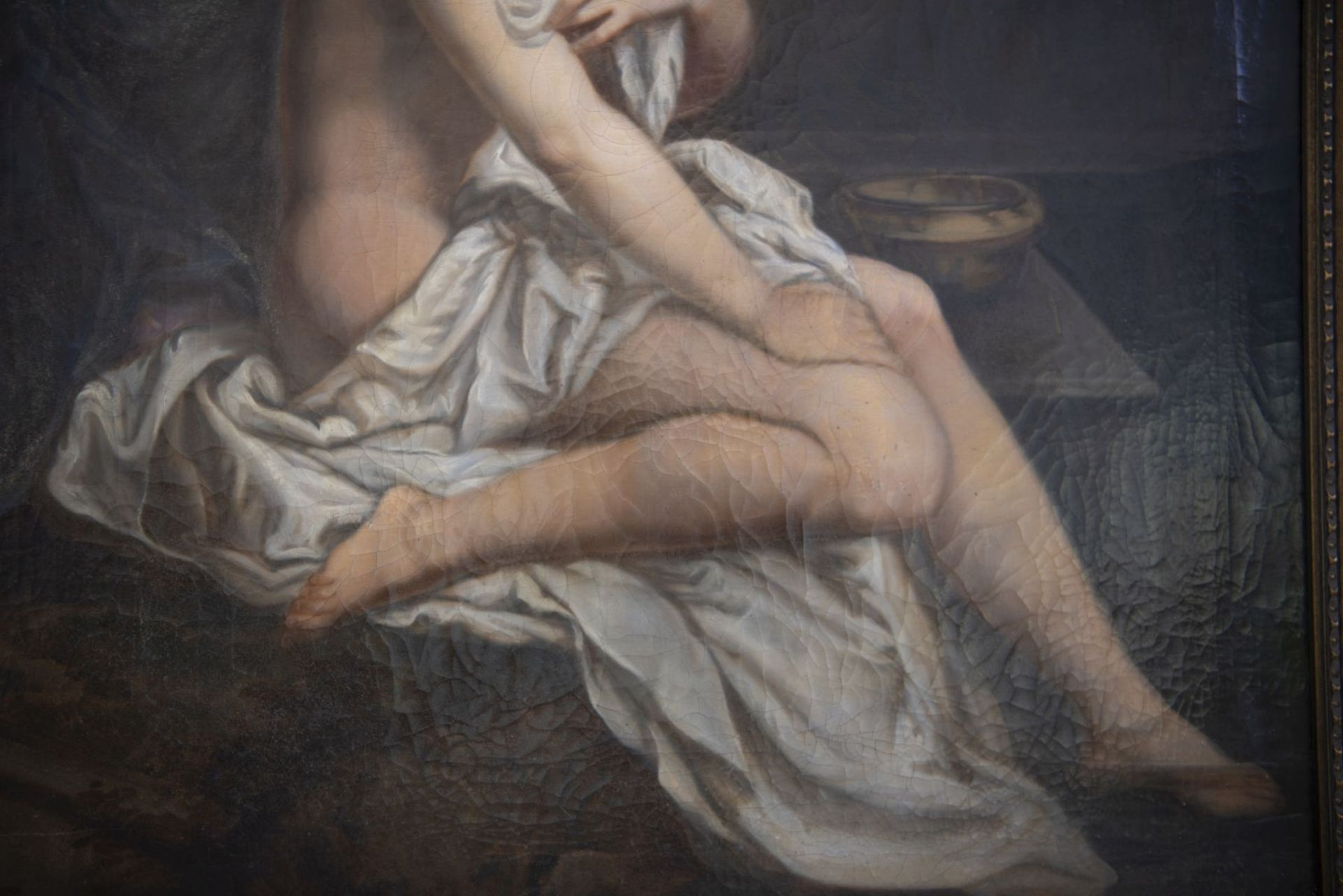 "After Jean Baptiste Sauterre, France around 1800 ""Susanna in the bath"" - Image 3 of 7"