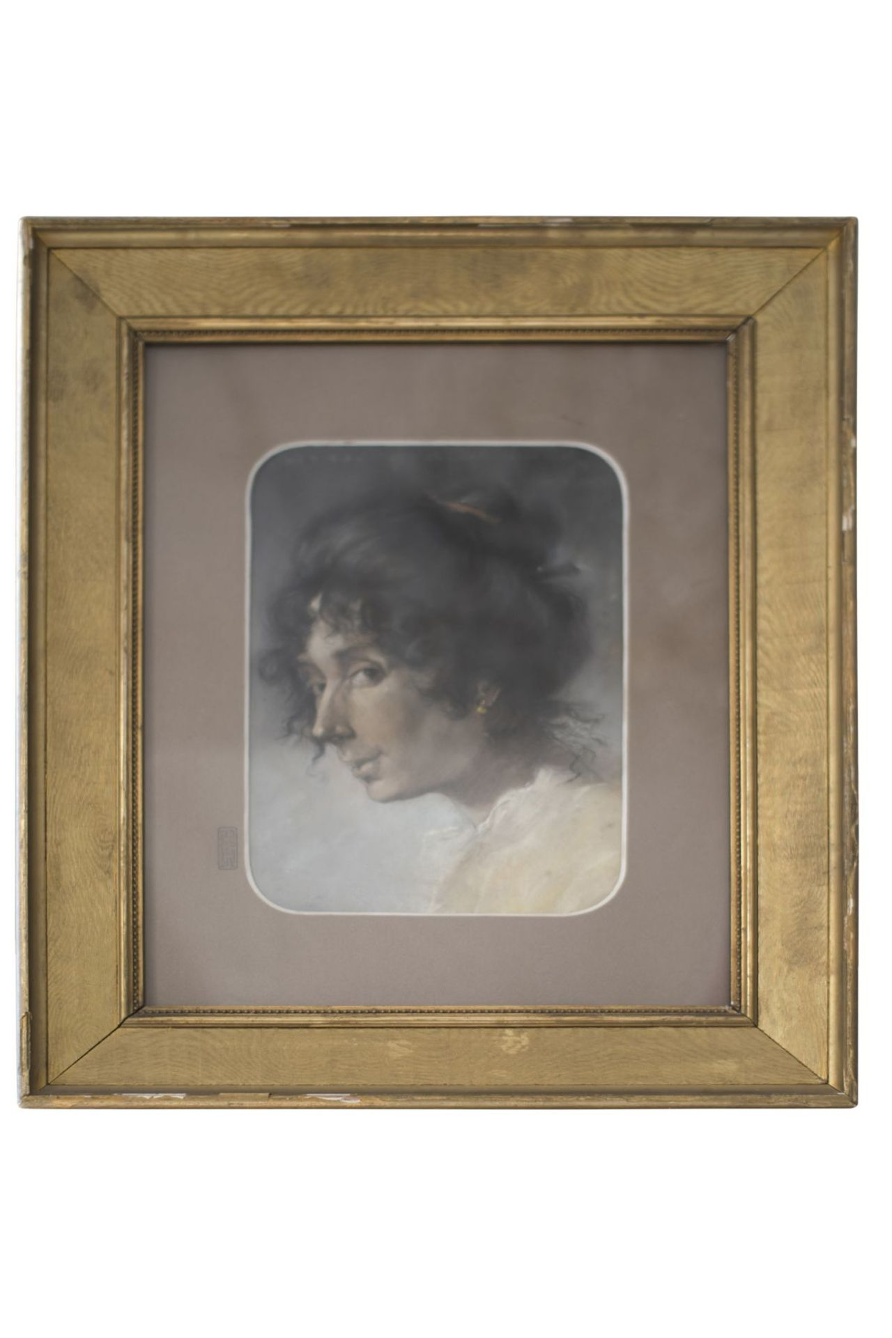 "Artist around 1820 ""Portrait of a lady"""