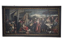 Baroque Painter of the 18th Century - Various Scenes