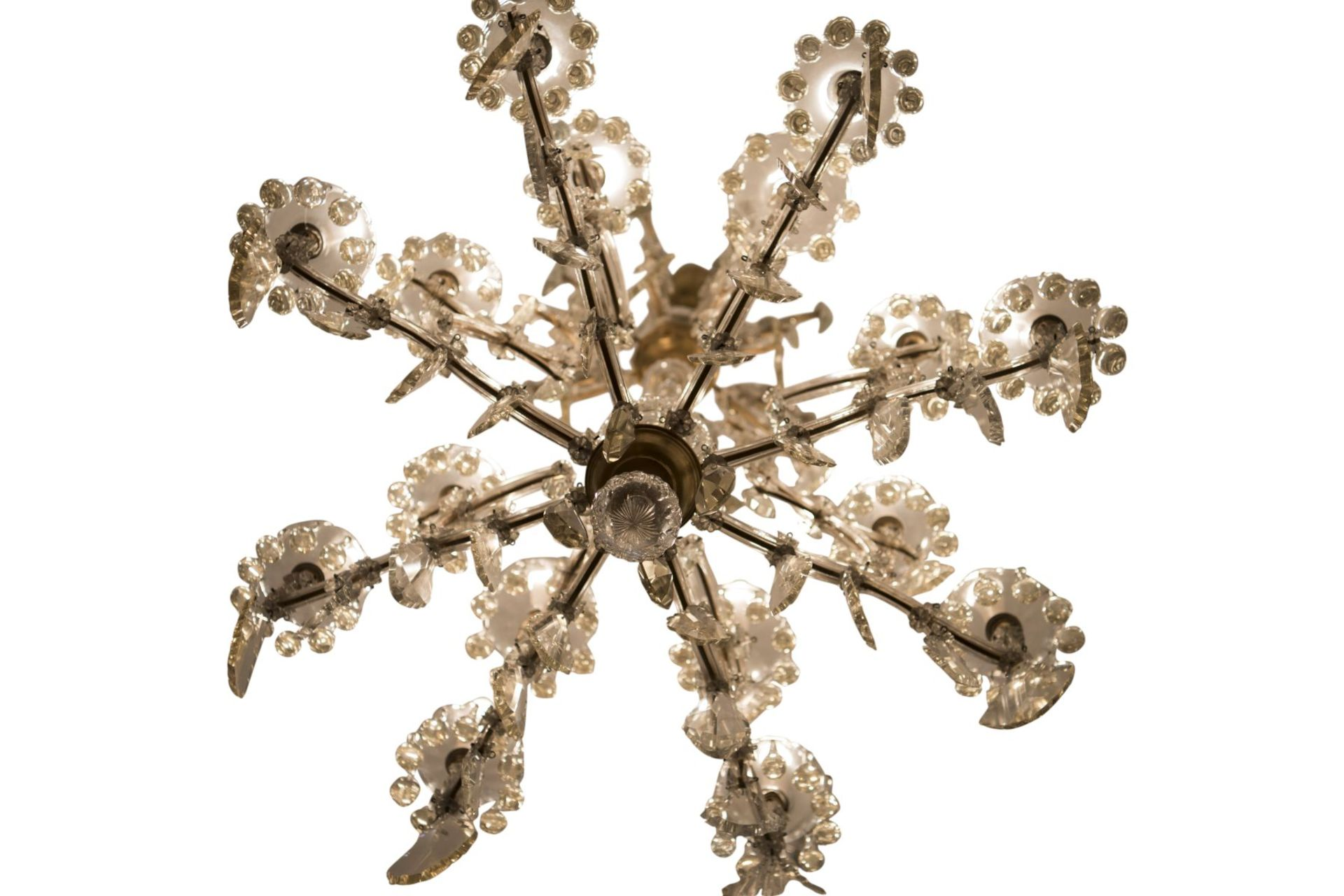 "Decorative Salon Chandelier ""Maria Theresa Style"" - Image 8 of 8"