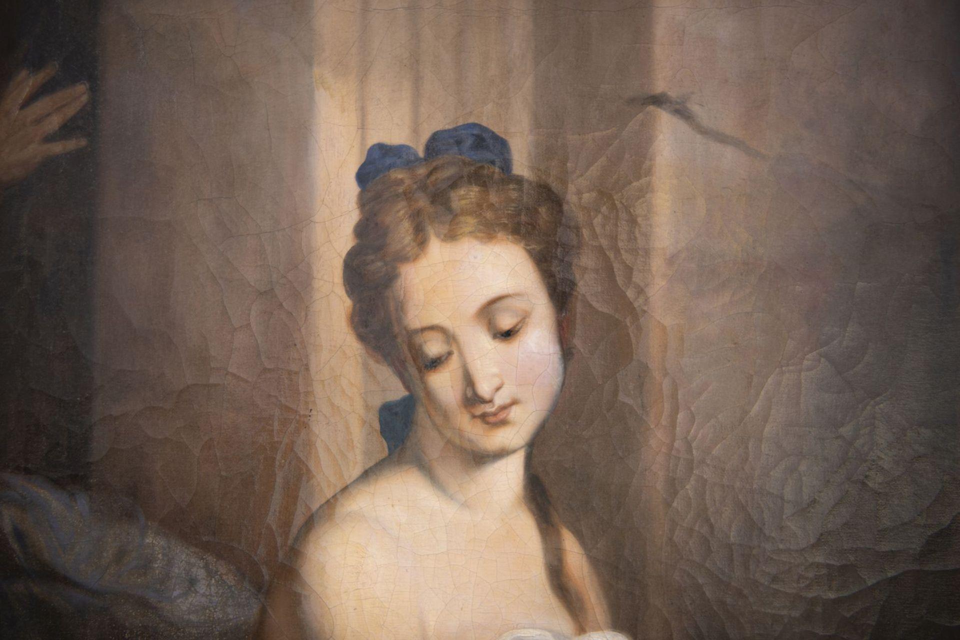 "After Jean Baptiste Sauterre, France around 1800 ""Susanna in the bath"" - Image 2 of 7"